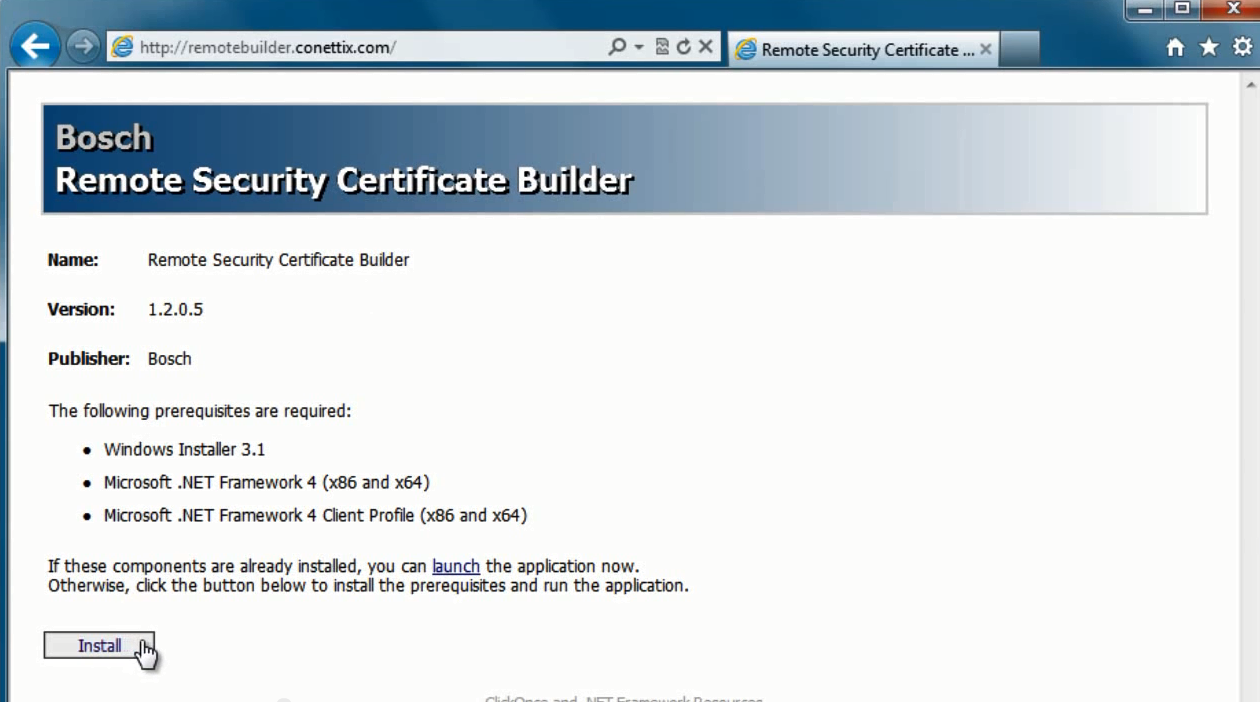 Tools conettix certbuilder1 open the remote security certificate 1betcityfo Gallery